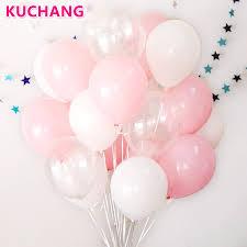 <b>30Pcs</b>/<b>lot</b> 2.3g Pink Clear White <b>2.8g</b> Transparent Balloons Latex ...