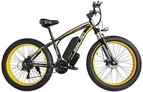 "Hyuhome Electric Bikes for Adults Women Men, 4.0"" Fat Tires 26 ..."