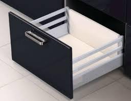 soft close drawers box: pan drawer topslide soft close boxed drawer grey mm x mm