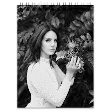 <b>Блокнот</b> Lana Del Rey #2432785 от flipside