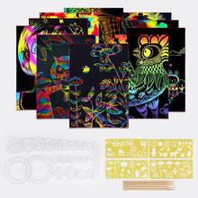 Отзывы на Rainbow Scratch Art Paper. Онлайн-шопинг и отзывы ...