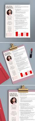 modern feminine résumé template custom résumé cv instant fully editable modern feminine résumé template design beauty editor fashion editor writer