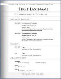 cv resumes templates free basic free basic resume templates