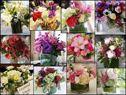 decor flower table decoration reception  easy ways to decorate your wedding reception flowers for centerpieces