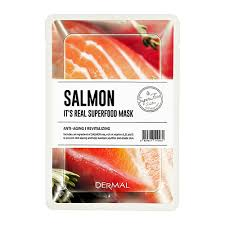 <b>Маска для лица</b> `DERMAL` SUPERFOOD с экстрактом лосося 25 г ...