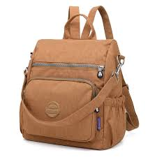 <b>Preppy Style</b> Women Backpack <b>Waterproof Nylon</b> Backpack 10 ...