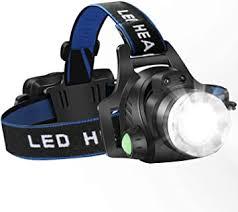 Headlamp Flashlight, <b>USB Rechargeable</b> Led Head Lamp, IPX4 ...