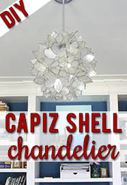 make your own capiz shell chandelier just like the expensive designer versions gorgeous capiz shell lighting fixtures