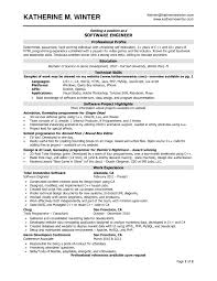 resume format for engineers experienced samples of resumes software engineering positions of the experienced resume formats fi