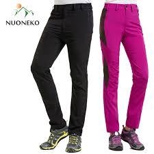2019 <b>NUONEKO</b> New Men Women'S <b>Outdoor Hiking</b> Pants Elastic ...