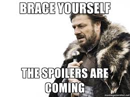 What do we say to Game of Thrones spoilers? Not today... GIF ... via Relatably.com
