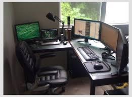 sunny day at the home office best office set up for me yet amazing office desk setup ideas 5