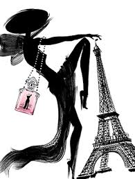 <b>Guerlain La Petite</b> Robe Noire | Vintage posters, Guerlain, Couture