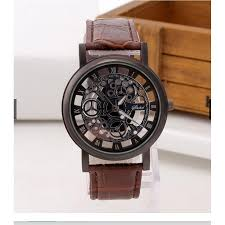 Fashion <b>Business Skeleton Watch</b> Engraving Hollow | Shopee ...