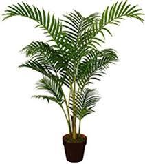 best artificial 120cm 4ft areca palm tree tropical office conservatory indoor outdoor garden plant 1 best office plants no sunlight