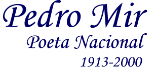 Resultado de imagen para Pedro Mir