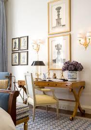 georgian residence elegant bedroom photo in san francisco with white walls beautiful office desks san