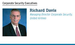 richard davis managing director corporate security united airlines corporate physical security jobs