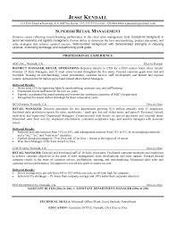 resume template resume objective for retail management retail   resume template superior retail management technical skills and education in university of or