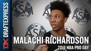 malachi richardson interview and highlights from asm sports pro malachi richardson interview and highlights from asm sports pro day