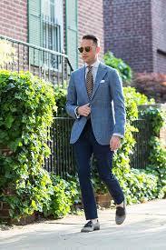<b>New Summer Classic</b>: Light Blue Blazer - He Spoke <b>Style</b>
