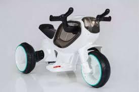 Электромотоцикл <b>Наша Игрушка Мотоцикл</b> Олимп RX-1388 white