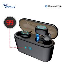 HBQ TWS <b>Bluetooth Earphone</b> Touch Operate <b>Mini</b> Earbud With Mic ...