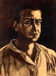La exposición reúne la colección de obras de José Gutiérrez Solana (1886-1945) perteneciente a la Fundación Mapfre: seis óleos sobre lienzo y una treintena ... - autorretrato_Jose_Gutierrez_Solana