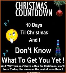 Image result for 10 days until Christmas