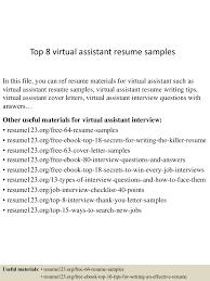 topvirtualassistantresumesamples conversion gate thumbnail jpg cb