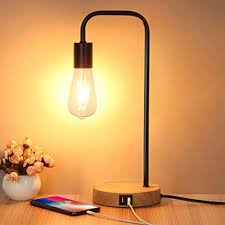 Touch Control <b>Table Lamp</b>, <b>USB Desk Lamp</b>, 3 Way <b>Dimmable</b>