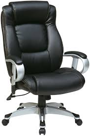 office star executive black eco leather chair with height adjustable arms black office chair