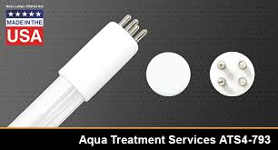 uv lamp replaces aqua treatment services sl 8 sl 8v gds 8 pfc 8 excelight technologies inc el411l glasco l 062418