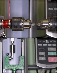 Mechanical strength of <b>stainless steel</b> and titanium alloy <b>mini</b> ...