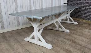 images zinc table top: all photos to zinc top dining table