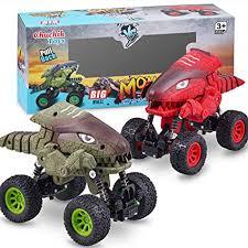 CHUCHIK Dinosaurs Pull Back Car Toy. New Model ... - Amazon.com