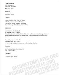 audition resume resume acting template theater audition audition example source http www resumetemplates org audition resume format