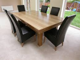 size modern wood dining