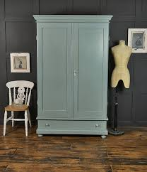 farrow ball oval room blue antique shabby chic wardrobe artwork blue shabby chic furniture