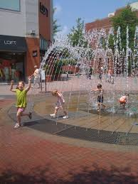 mall of forsyth for families play in the fountains near forsyth county ga