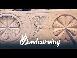 Woodcarving Baroque <b>Flower Ornament</b> Timelapse Резьба по ...