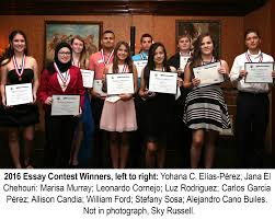 tampa hispanic heritage inc essay winners