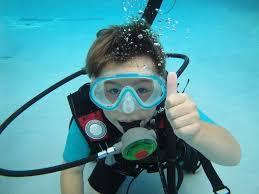 Plonger en piscine