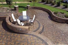 exterior inspiration delightful outdoor furniture set with metals materials on cement backyard pavers as simple patio browse cement furniture