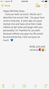 dolan s 17th birthday america ♡ rose dolans · 16 dec 2016