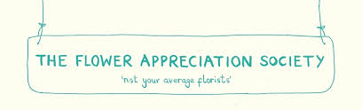 Image result for the flower appreciation society logo