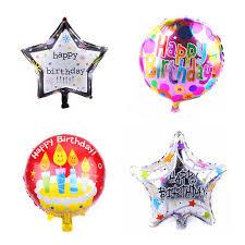 TSZWJ New 18 inch Happy <b>Birthday</b> Aluminum Balloons <b>Birthday</b> ...
