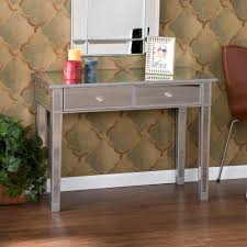 mirrored console table living room image of mirrored console table overstock