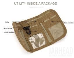 <b>Outdoor Tactical Nylon</b> Wallet Purse Multifunctional Waterproof Bag ...