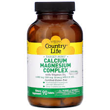 Country Life Target-Mins <b>Calcium Magnesium Complex with</b> Vitamin ...